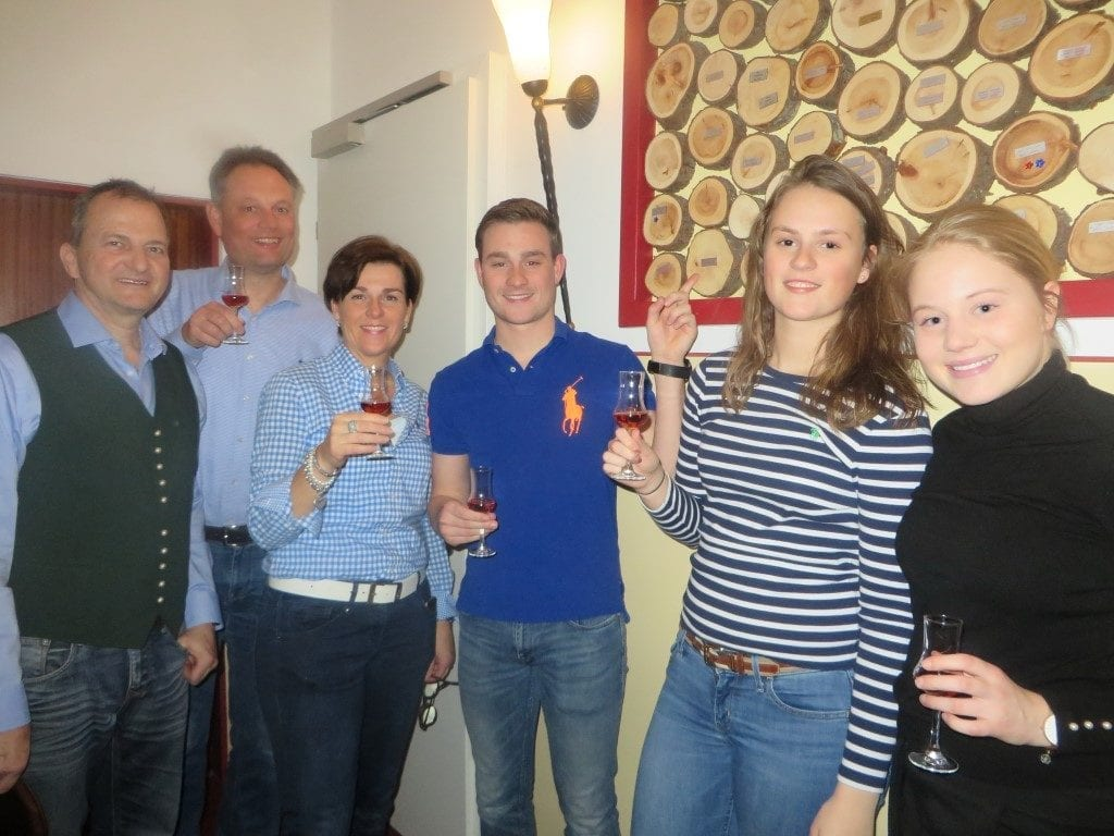 Familie Moerkerken seit 2014 Gäste im Sailer 2.3.2018