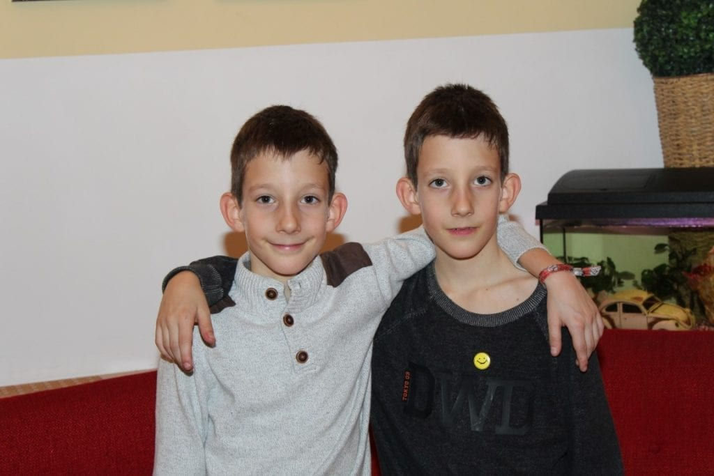 Roman und Daniel die Sailer-Fink Zwillinge 22.12.2017