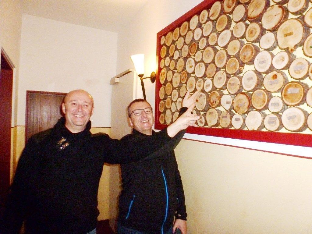 Manfred und Helmut seit 2014 liebe Gäste im Sailer 26.1.2018