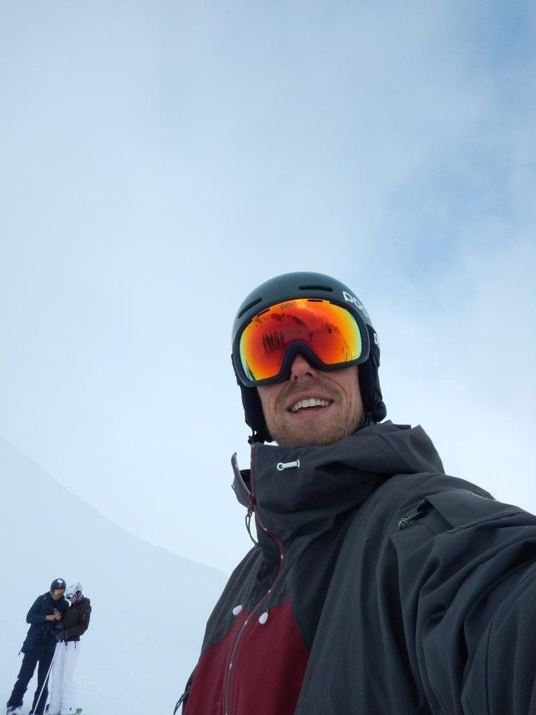 Lederhosen Skilehrer Christof von der Skischule NAC