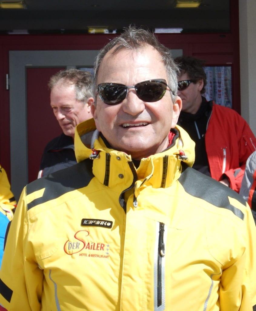 Chef Rudi bei der Tauernskirunde 3.4.2018
