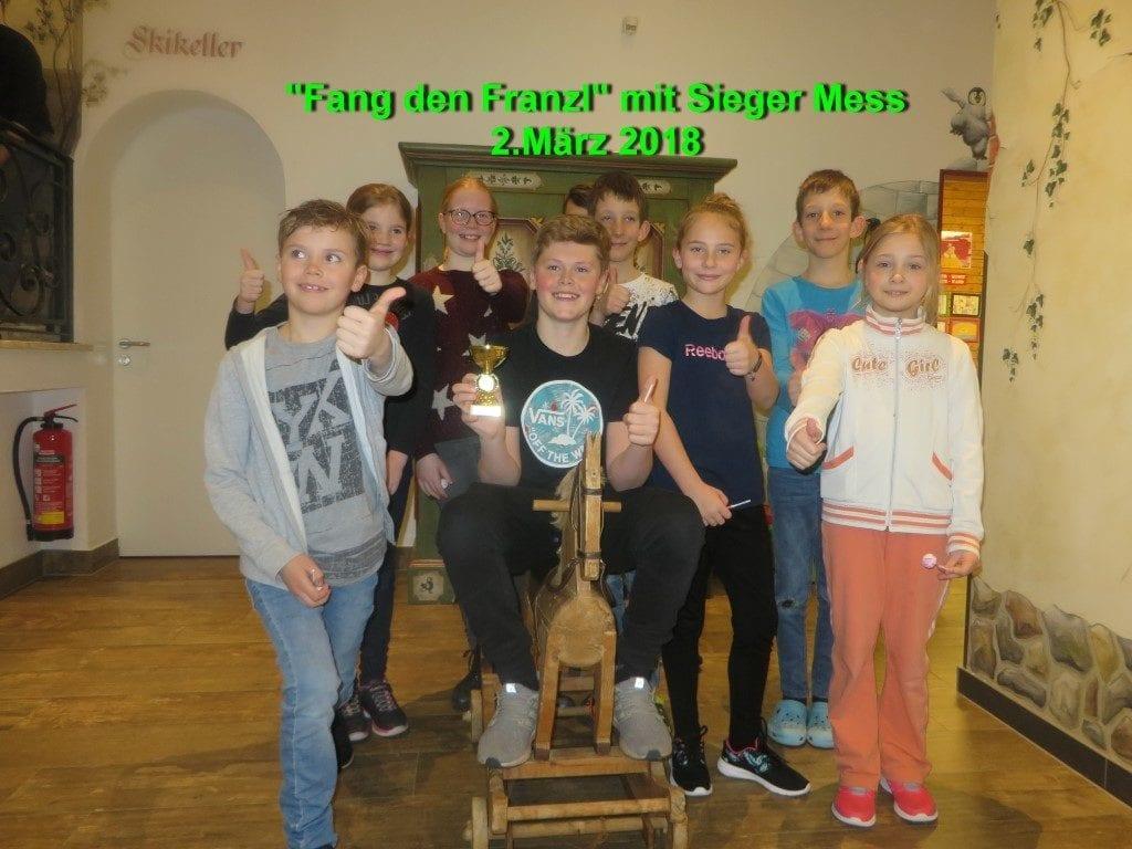 Fang den Franzl 2.3.2018