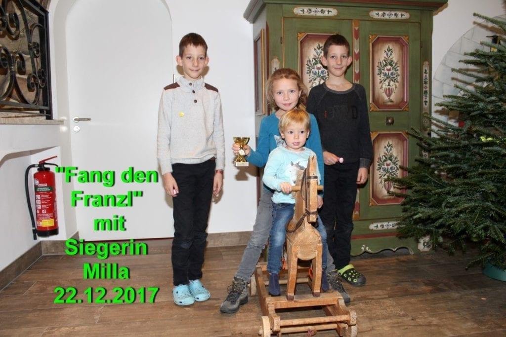 Fang den Franzl 22.12.2017