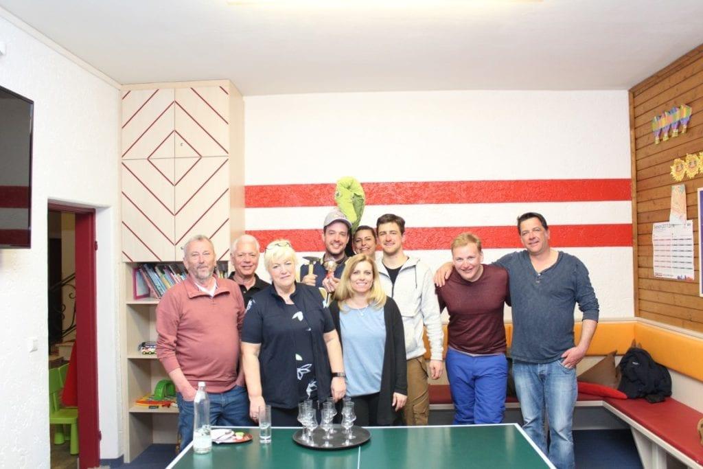 Wettnageln mit Sieger Ronny 28.3.2018