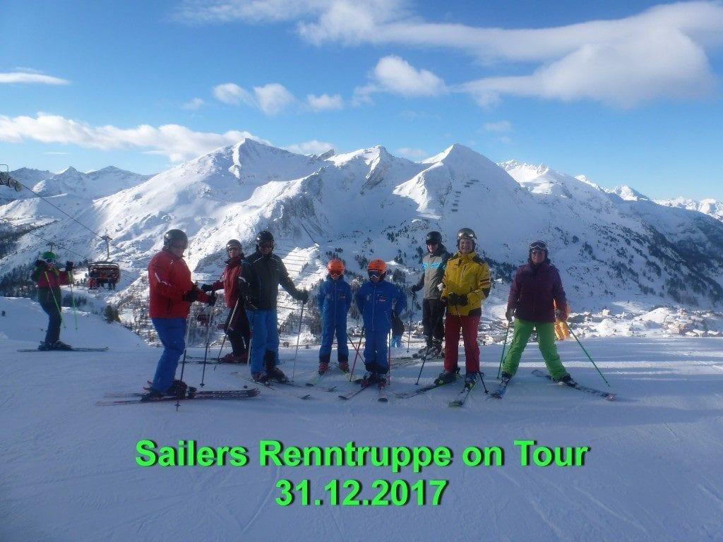 Tauernskirunde 31.12.2017