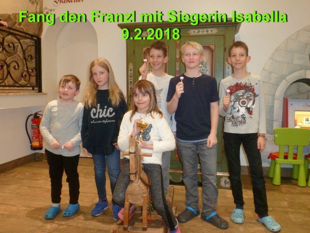 Fang den Franzl 9.2.2018