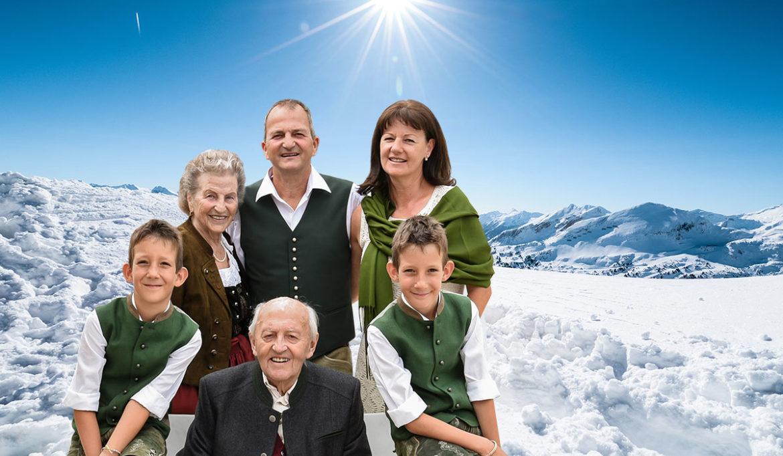Familie Sailer - Hotel DER SAILER in Obertauern