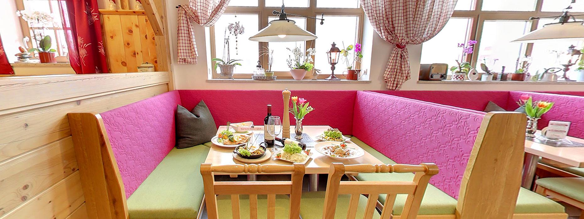 Kulinarik in unserem 3-Sterne Hotel in Obertauern, Salzburg