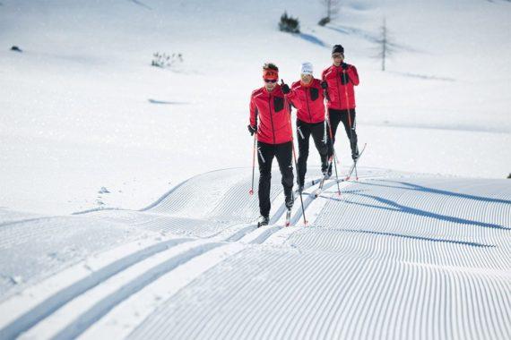 Langlaufen im Winterurlaub in Obertauern, Salzburger Land