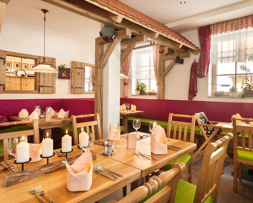 Restaurant & Stüberl im Hotel DER SAILER in Obertauern